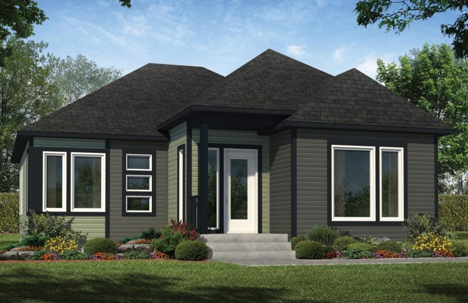 plans de maison en 3d les entreprises lachance. Black Bedroom Furniture Sets. Home Design Ideas