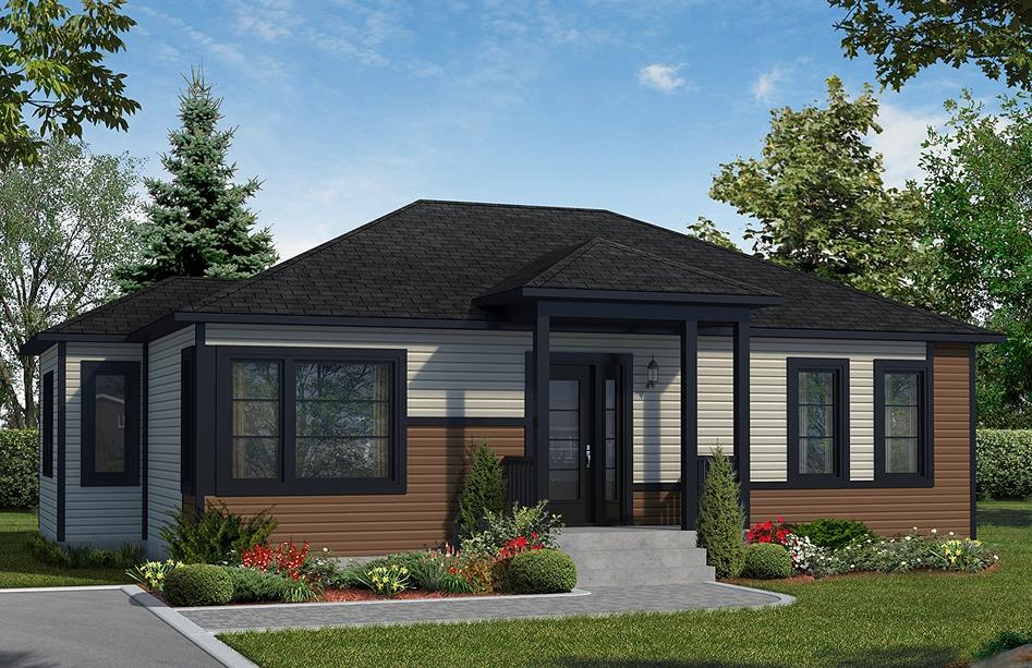 Plans de maison en 3d les entreprises lachance for Prix maison neuve 5 chambres