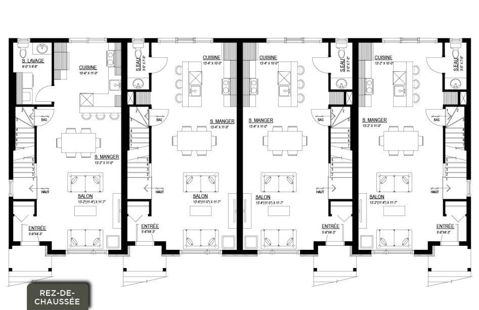 1700 rue georges povey sherbrooke fleurimont les for Plans de maison de ville