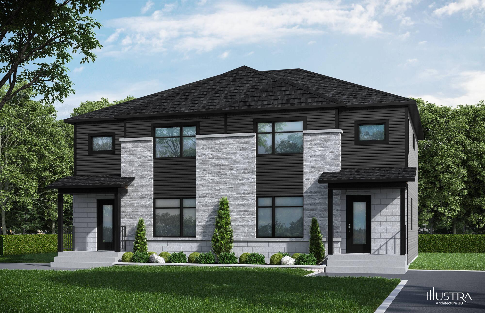 Construction maison neuve drummondville maison moderne for Construction maison neuve 3d