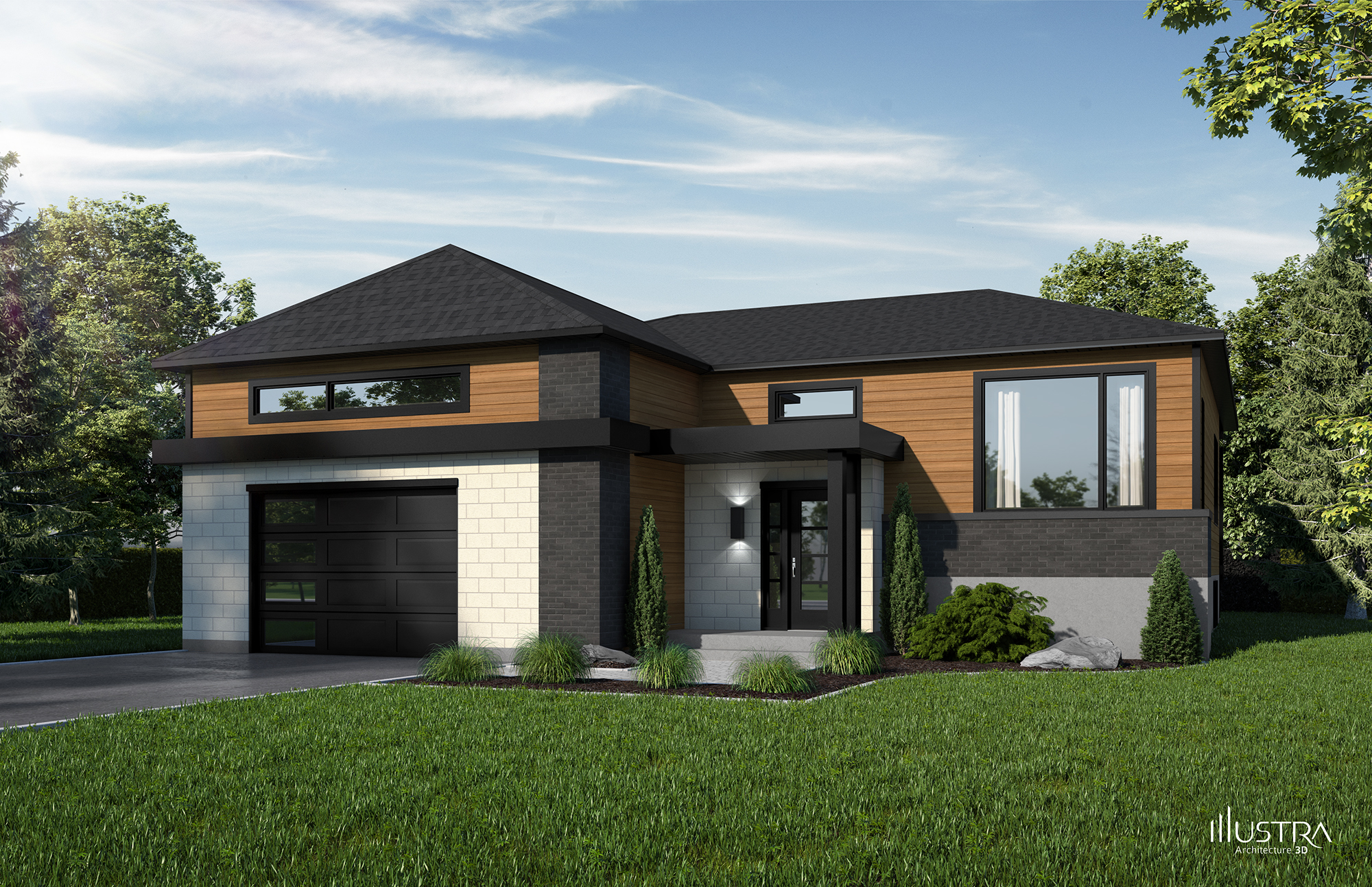 Trendy Modele Beauharnois With Exemple De Maison Neuve