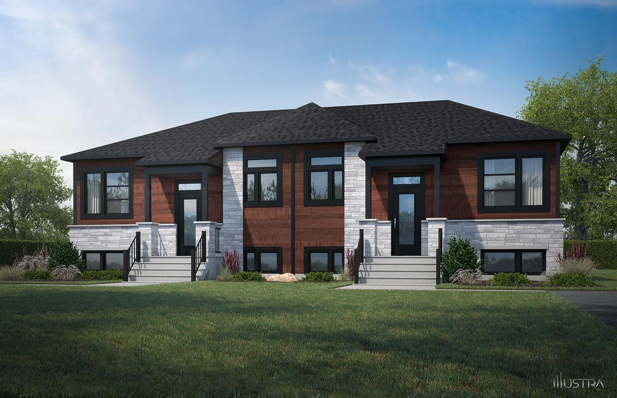 Plans de maison en 3D - Les Entreprises Lachance