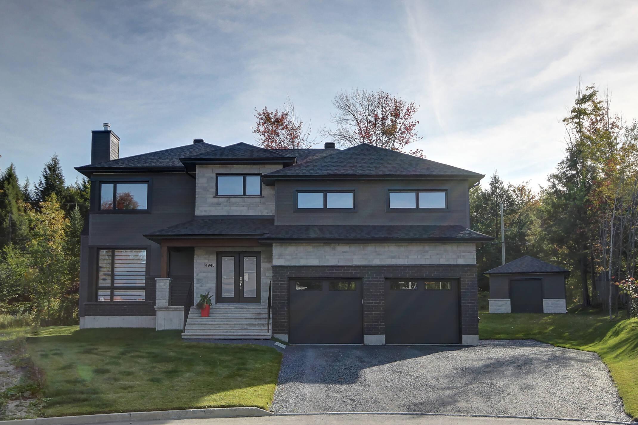 Maison neuve luxe et prestige à Sherbrooke | Les Entreprises Lachance