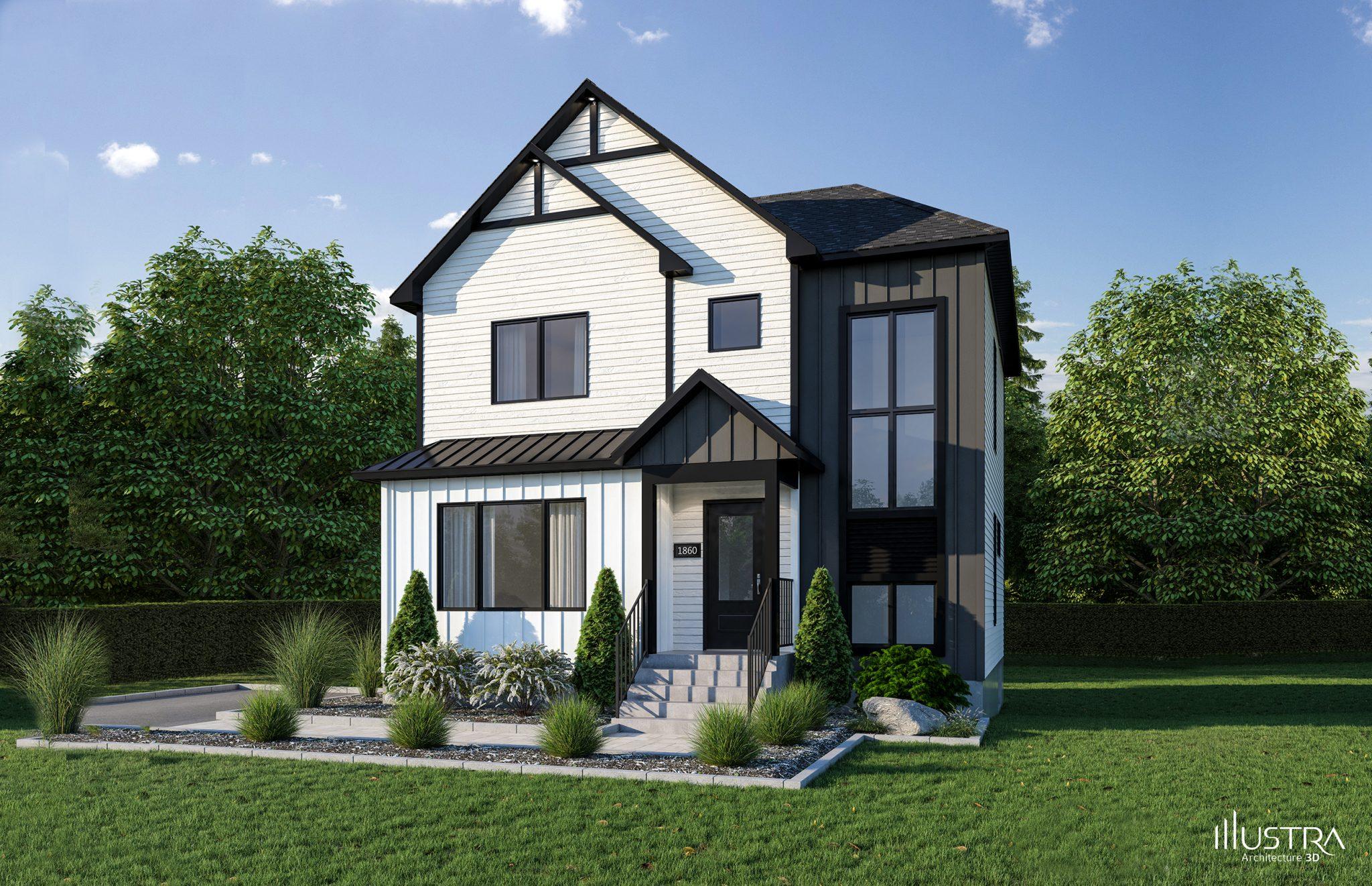 Plans de maison en 9D - Les Entreprises Lachance